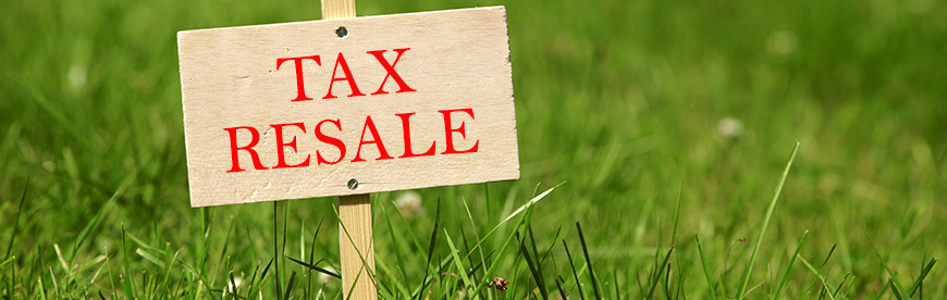Handling tax resales in Texas.